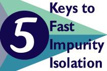Averica Keys Fast Impurity Isolation